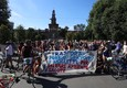 Fridays For Future, a Milano la critical mass parte da largo Cairoli (ANSA)