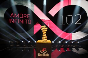 Presentation of the 102 edition of the 'Giro d'Italia'