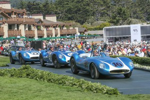 Eventi Monterey e Pebble Beach, 'green carpet' per auto top (ANSA)