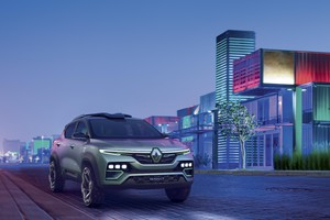 Renault Kiger, la show-car che punta all'India (ANSA)