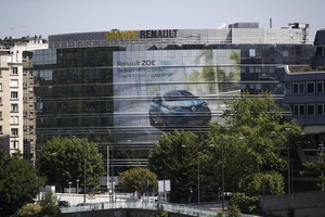 Renault headquarters in Paris (ANSA)