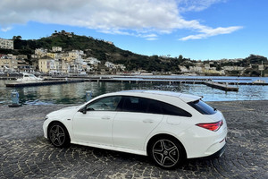 Mercedes CLA 250e Shooting Brake (ANSA)