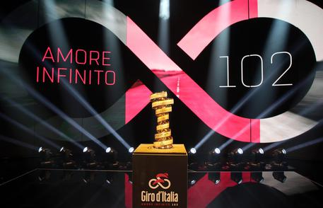 Presentation of the 102 edition of the 'Giro d'Italia' © ANSA