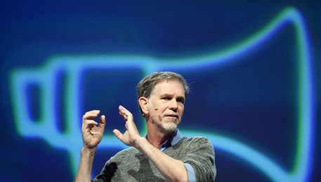 Reed Hastings, ceo di Netflix (ANSA)