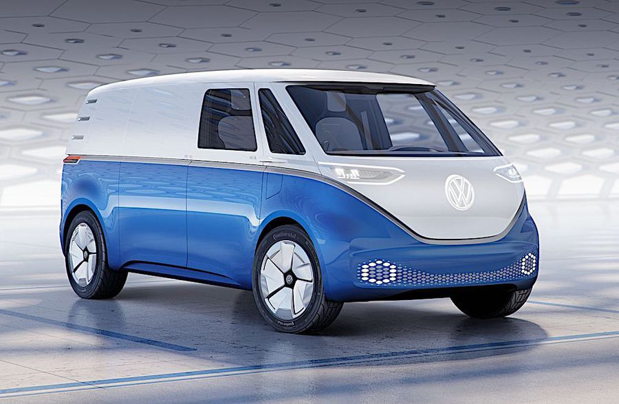 VW I.D. Buzz Cargo anticipa futuro 'green' dei commerciali © ANSA