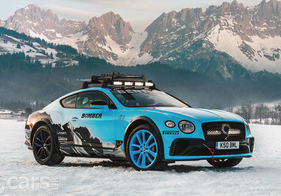 GP Ice Race in Austria, dalle prime Porsche all'ultimo mostro Bentley ©