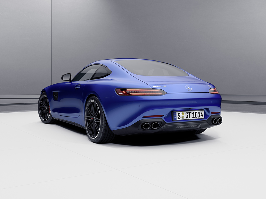 Mercedes AMG GT coupé e roadster, via agli ordini © Ansa