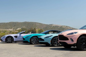 Aston Martin, una versione speciale color 'California' (ANSA)